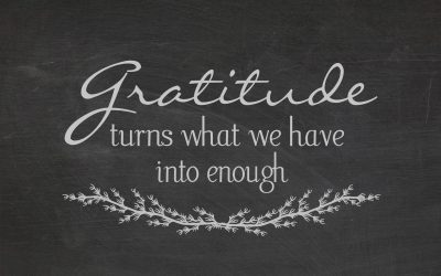 PODCAST ~ The Importance of Gratitude