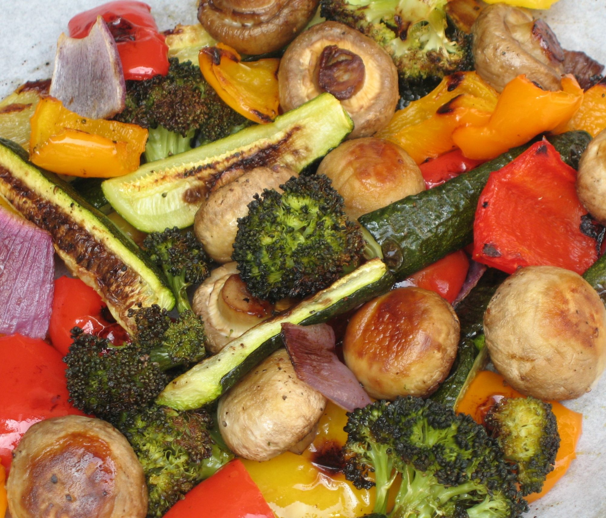 Easy Peasy Roasted Veggies