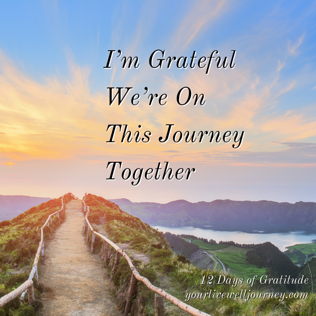 Gratitude Post for the 12 Days of Gratitude - Day 7