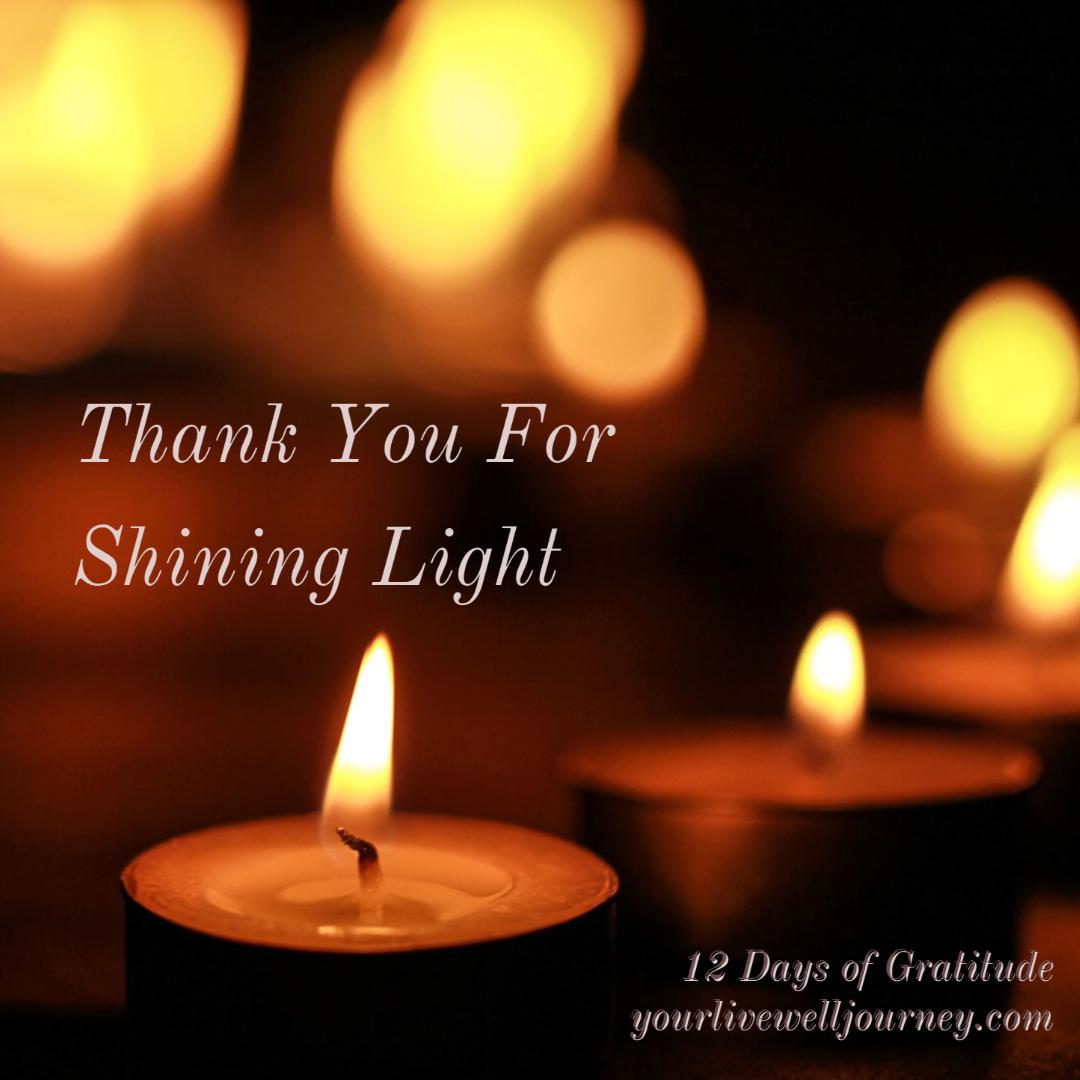 Gratitude Post for the 12 Days of Gratitude - Day 9