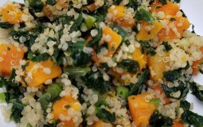 Butternut Squash, Kale and Quinoa