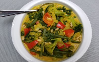Coconut Curry Veggie Stir-Fry