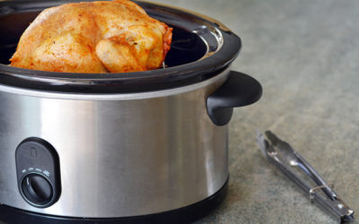 Easy Peasy Slow Cooker Chicken