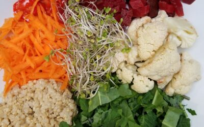 Yummy Kale and Quinoa Salad