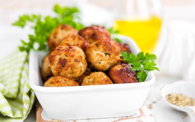Gluten-Free Chicken Meatballs